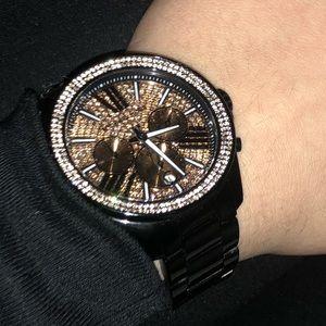 Micheal Kors Watch!!! With Swarovski Crystals!!!